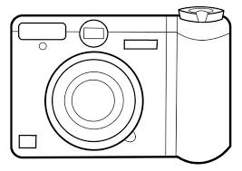 Small Picture Camera Coloring Page Photography Camera Coloring Page With Camera