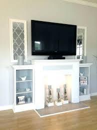 building a fireplace mantel s diy shelf for brick surround making