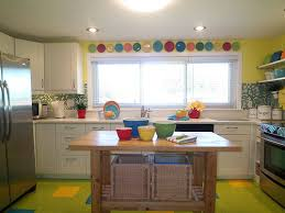 colorful kitchen ideas. Bright Coloured Kitchen Colorful Makeover Featuring Fiestaware Hooked On Houses Ideas
