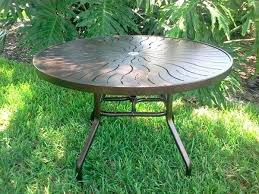 inch round aluminum patio table r p 1 48 square seats how many