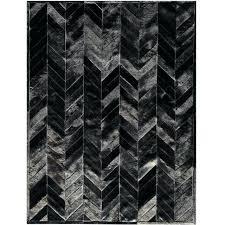 black cowhide rug ikea patchwork