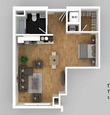 Cambridge One Bedroom Apartments Collection