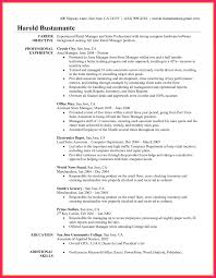 Awesome Resume Objective For Retail Sales Manager Photos