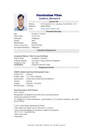 Jobstreet Resume Format Best Resume Template Sample