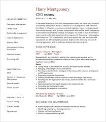 chief executive officer resume template 8 free word excel pdf resume templates for executives