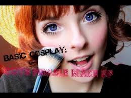 cosplay basics cute female makeup tutorial