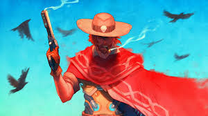 windows 10 overwatch theme overwatch mccree wallpapers wallpaper cave