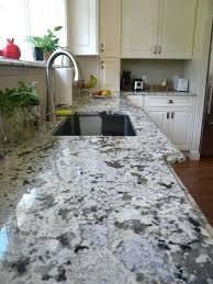 alaskan white granite countertops on kitchen
