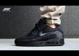 nike air max 90. nike air max 90 essential all black