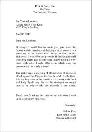 Proper Format Of A Letter How To Write A Proper Letter Epic Letters How To Properly Format A