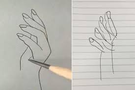 Whenever a photograph, painting or drawing containing many colors or gray tones is printed, the colors and tones must be simulated with tiny dots. Surprisingly Difficult Hand Drawing Tutorial Sweeps The Internet With Some Hilarious Results London Evening Standard Evening Standard