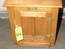 white clad ice box furniture end table reprod ammo view larger