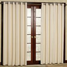 ds for patio doors with metal dry rods and cream shutter color full size