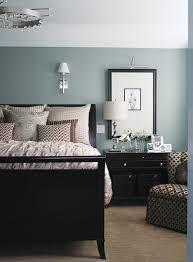 bedroom design ideas cool blue bedroom with dark furniture