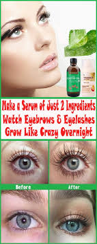 there are some natural ings that actually work when used religiously below is a recipe for diy eyelash growth serum