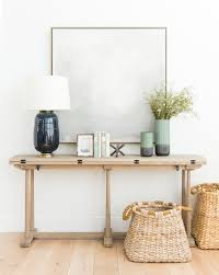 Console Table Lights Artwork Table Lamp Console Combinations Decor