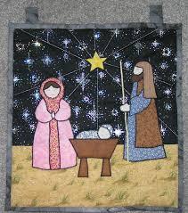 Nativity Quilt   Holidays   Pinterest   Christmas nativity, Wall ... & Nativity Quilt Adamdwight.com