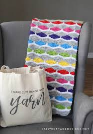 Free Crochet Afghan Patterns Fascinating Crochet Blanket Pattern A Bright Fun Free Crochet Pattern Daisy