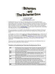 All About Bohemian Grove Freemasonry Prometheus