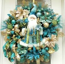 27 Best Turquoise And Gold Christmas Decor Images On Pinterest regarding  Teal Christmas Decorations