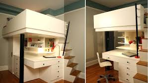 loft bed with desk plan for the s bedrooms become home offices and vice versa queen
