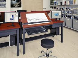 Delightful Drafting Table Computer Desk