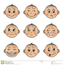 Emotions clipart children's - Pencil and in color emotions clipart ...