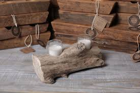 Driftwood Candle Holder (small)