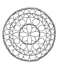 cool designs to trace. Simple Cool Mandalacolor1 Mandala Coloring Pages And Cool Designs To Trace A