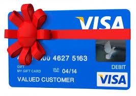 visa gift card