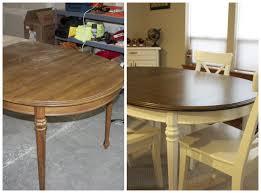 Refinished Kitchen Tables Kitchen Table Refinishing Best Kitchen Ideas 2017