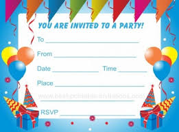 Birthday Party Invitation Template Word Free Birthday Party Invitation Template Word Free Holidayinnknoxwest