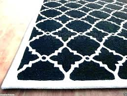 black and white chevron rug area rugs 8x10