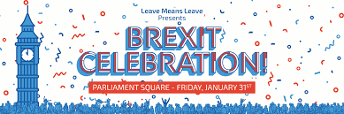 Image result for brexit day 2020