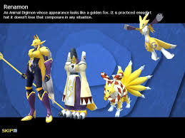 Digimon Masters Online Evolution Chart Renamon Evolution Clipart Images Gallery For Free Download