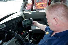 saia uses an on board puting and telematics system from vnomics to provide drivers with