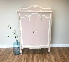armoire furniture antique. Antique French Armoire Wardrobe Vintage Small Closet Shabby Chic Cabinet Furniture