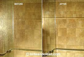get hard water stains off shower glass hard water stain remover shower door hard water stain