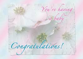 Expecting Baby Congratulations Card Greeting Card