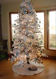 ... Full size of White christmas tree decoration idea blue and white  shatterproof christmas ball ornaments ommercial