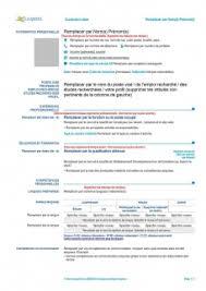Modelli curriculum ufficiali forniti dalla commissione europea. Modele De Cv Europeen Gratuit A Telecharger Cv Word Europass