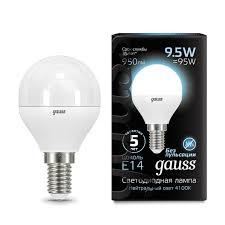 Купить лампочку Gauss 105101210 <b>Лампа Gauss LED Globe</b> E14 ...