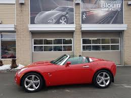 Used Pontiac Solstice 2006 for sale | Yves G. Blouin auto Inc.