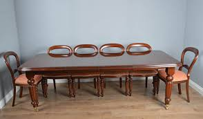 dining table with 10 chairs. Victorian Style Dining Table \u0026 10 Chairs With