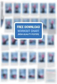Exercise Wall Chart Free Download 75 Competent Vibration Plate Exercise Chart Download