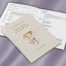 Wedding Ceremony Brochure Wedding Ceremony Booklets Wedding Print