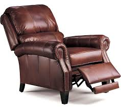 Lane Leather Recliner Chair Rebel Leather Recliner And Ottoman