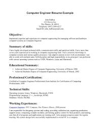 computer engineering resume sample computer engineering resumes
