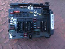 peugeot 206 1 6 16v petrol manual fuse box fusebox bsm module0 peugeot 206 under bonnet fuse box module 96506640 bsm b3 siemens tested