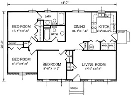 Small Picture 1200 Sq FT Ranch House Plans house ideas Pinterest House